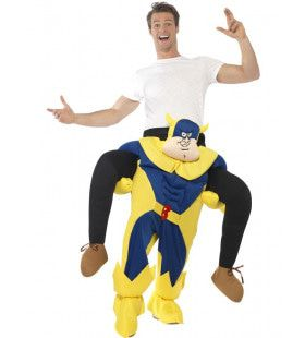 Op De Rug Van Bananaman Kostuum