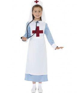 2e Wereldoorlog Verpleegster Meisje Kostuum