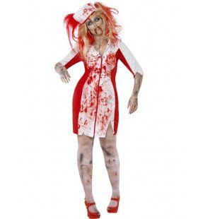 Zombie Verpleegster Maatje Meer Vrouw Kostuum