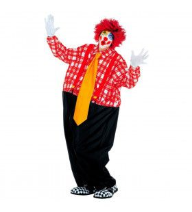 Vet Gave Clown Man Kostuum