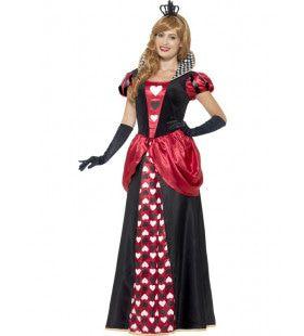 Rode Lange Koninginnenjurk Vrouw