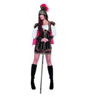 Roman Warrior Ms Caligula Vrouw Kostuum