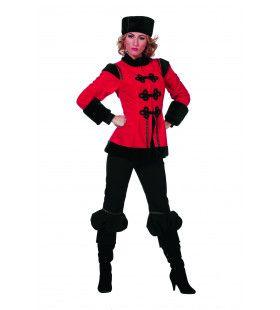 Polka Kozakdame De Luxe Vrouw Kostuum