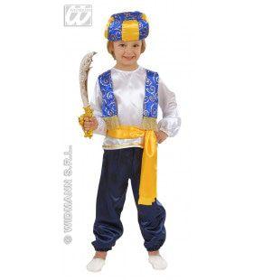 Arabische Prins Kind Jongen Kostuum