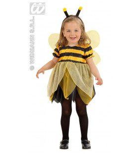 Kleine Bij Bumble Bee Kostuum Meisje