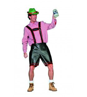 Herr Bier Tirolerbroek, Zwart Man Kostuum