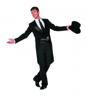 Lange Frack Slipjas Luxe Man Kostuum