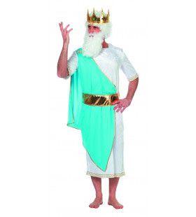 Griekse God Zeus Man Kostuum