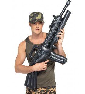 Opblaasbaar Machinekanon 112 Centimeter