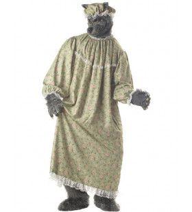 Oma Wolf Man Kostuum