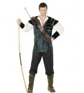 Middeleeuws Robin Hood Man Kostuum