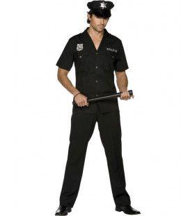 Fever Politieagent Man Kostuum