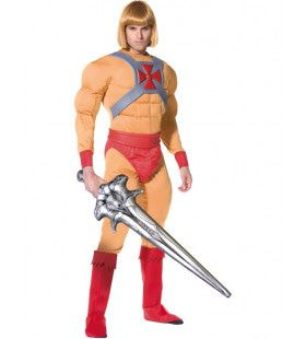Officiele He-Man Superheld Man Kostuum