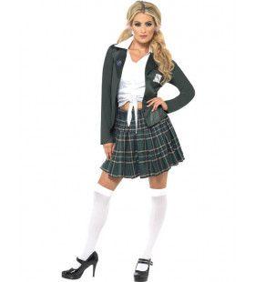 Schoolmeisje Kostuum Hot Highschool Vrouw