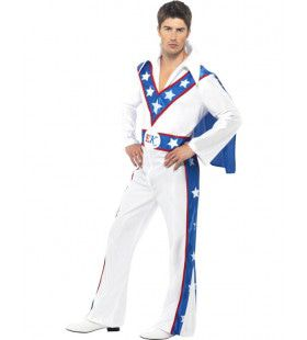 Evel Knievel Man Kostuum