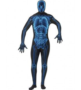 Second Skin Suit Rontgenfoto Kostuum Man