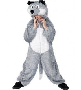 Kind Wolf Kostuum Kind