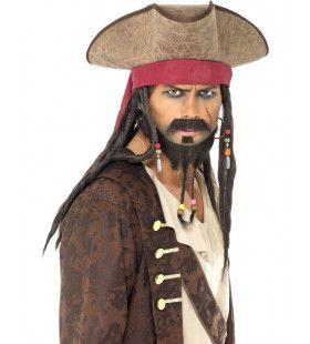 Piratenhoed Met Haar Man
