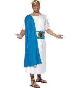 Romeinse Senator Man Kostuum