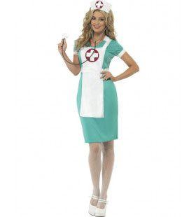 Verpleegkundige Scrubs Vrouw Kostuum