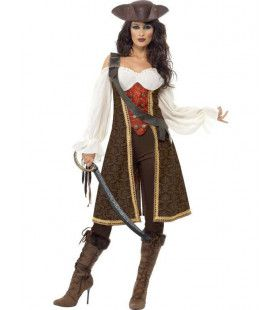 Pirate Van De Hoge Zeeen Outfit Vrouw