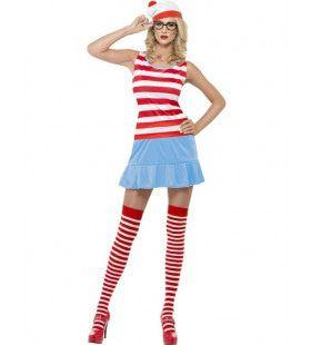 Dames Waar Is Wally Vrouw Kostuum