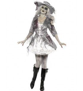 Halloween Piraat Vrouw Kostuum