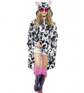 Grappige Koeien Poncho Kostuum