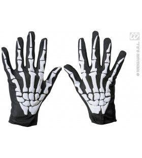 Angstaanjagende Skelet Handschoenen