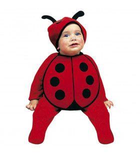 Piepklein Lieveheersbeestje Baby Kostuum