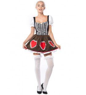 Heidi De Hartstochtelijke Oktoberfest Meid Vrouw Kostuum