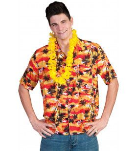 Zonsondergang Hawaii Hemd