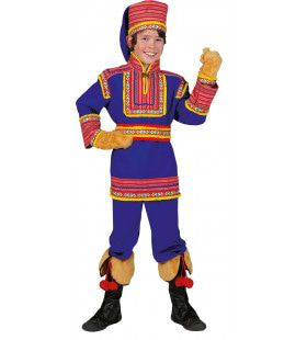 Saami De Tartaar Kind Jongen Kostuum