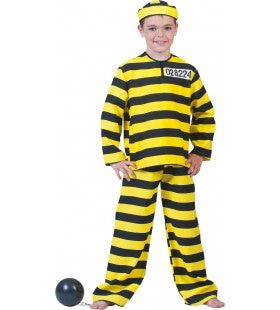 Dalton Gevangene Jongen Kostuum