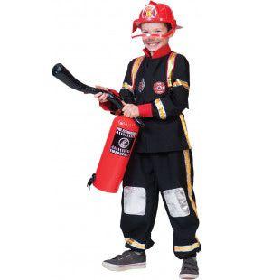 Heldhaftige Brandweerman Tom Jongen Kostuum