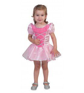 Roze Prinses Petra Meisje Kostuum