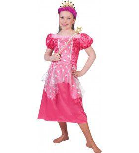 Roze Prinses Priscilla Meisje Kostuum