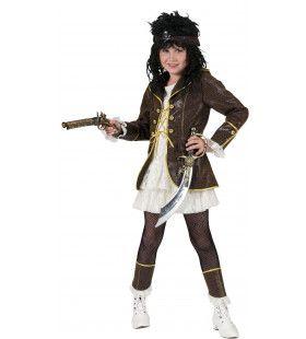Piraat Pecunia Jurk Meisje