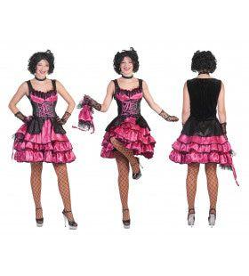 Pinkarella Can Can Vrouw Kostuum