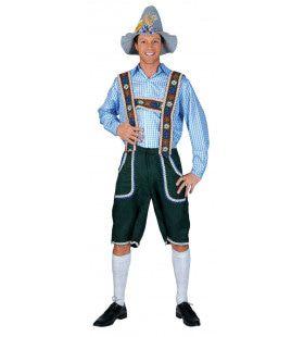 Salzburg Oktoberfest Man Kostuum