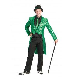 Frackjas Groen Man Kostuum