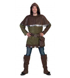Robin Hood De Armenhelper Kostuum Man