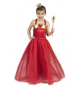 Rode Koningin Ambrosia Meisje Kostuum