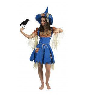 Vogelverschrikker Dame Hannah Vrouw Kostuum