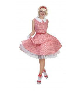 Jaren 50 Shanella Vrouw Kostuum