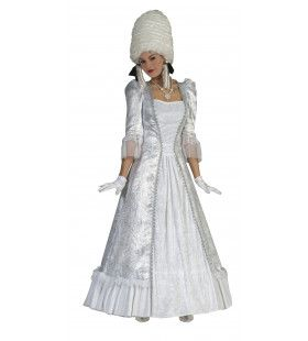Rococo Dame Nella Vrouw Kostuum