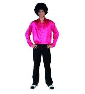 Roze Ruche Blouse Man