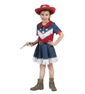 Spijkerharde Spijkerstof Cowboy Jeans Meisje Kostuum
