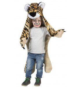 Grom Grauw Tijger Cape Kind Kostuum