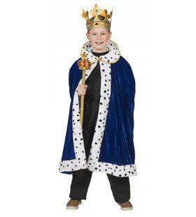 Blauwe Mantel Koning William Jongen
